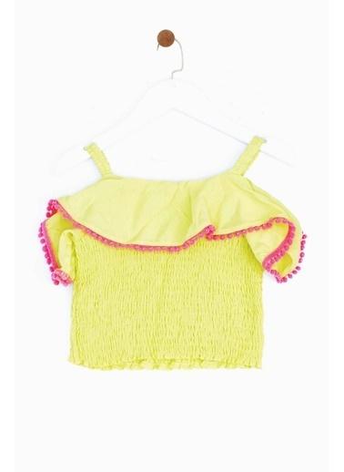 BG Baby Kız Bebek Sarı Bluz 19SS1BG2622 Sarı